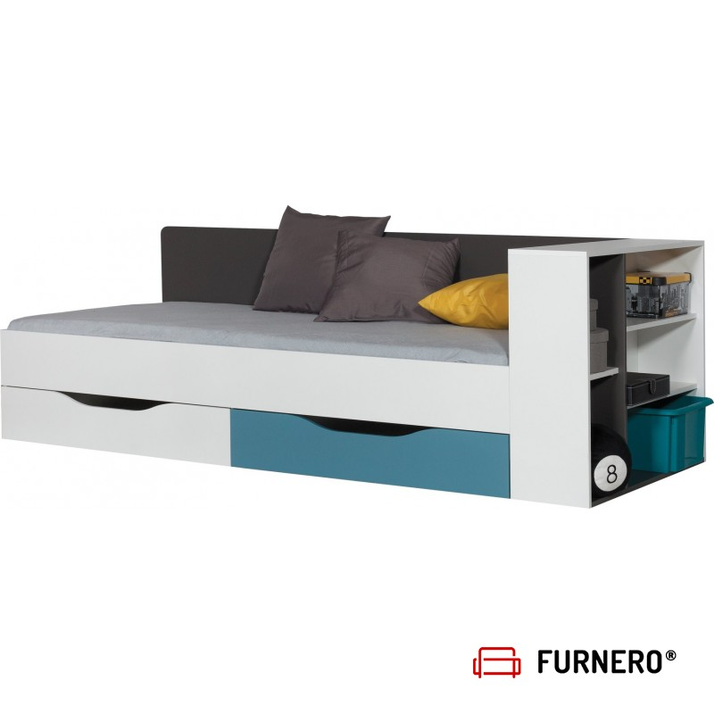 Łóżko TABLO + Dostawka