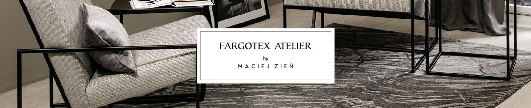 Meble w tkaninach Fargotex Atelier by projektant Maciej Zień